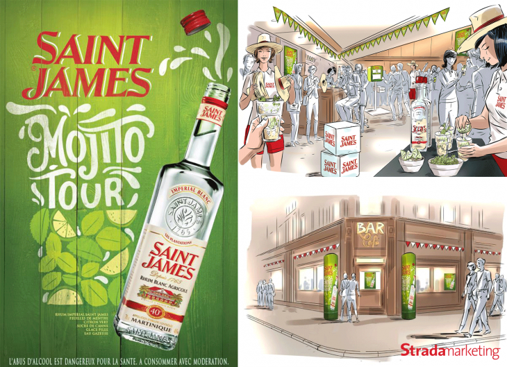 Saint James Mojito Tour