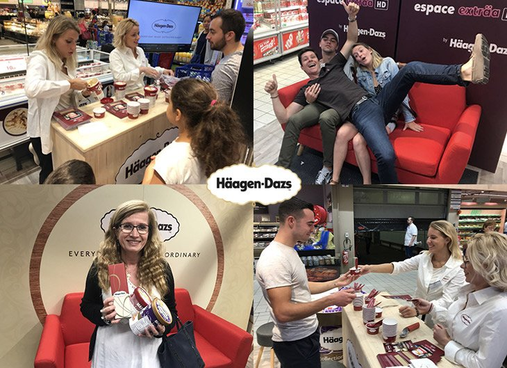 Le concept Exträa HD d'Häagen-Dazs vu par Strada Marketing