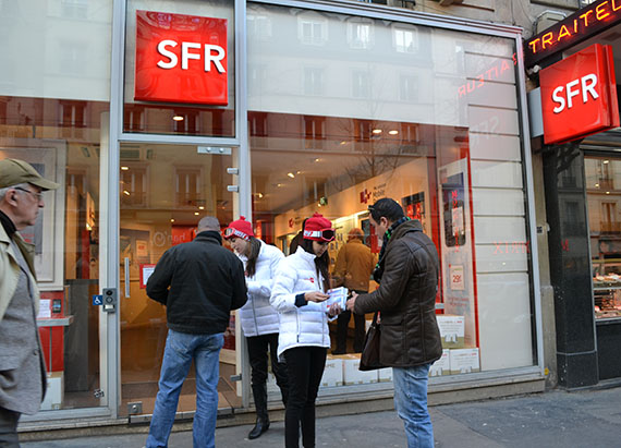street marketing sfr marketing out store strada marketing. Black Bedroom Furniture Sets. Home Design Ideas